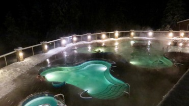 Hot springs by night