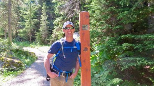 Our hiking buddy Bryan